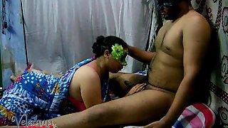 Velamma a real big ass big tits cock sucker Indian amateur