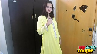 Sonia stripping shalwar suit moaning and asking to get fucked