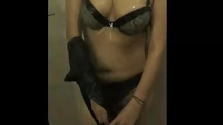 delicious bhabhi in shower getting naked
