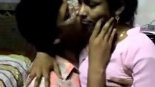 sexy bangla college girl getting her boobs sucked by her boyfriend