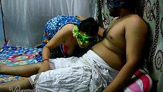 Velamma bhabhi getting punished for not giving hot blowjob