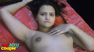 Sonia bhabhi lactating boobs pressed hard by sunny to drink her juice
