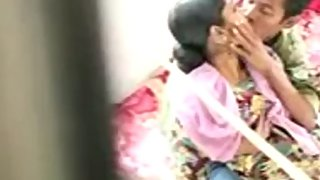 Homemade video of young Indian couple fucking in privacy
