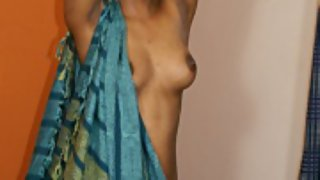 divya in full mood stripping her clothes off getting naked