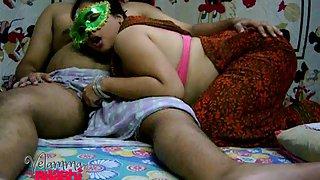 Velamma bhabhi desperate to suck her lovers cock