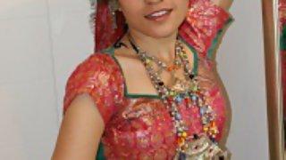 jasmine mathur in traditional gujarati garba outfits