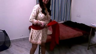 Shilpa bhabhi a solo spider woman stripping naked
